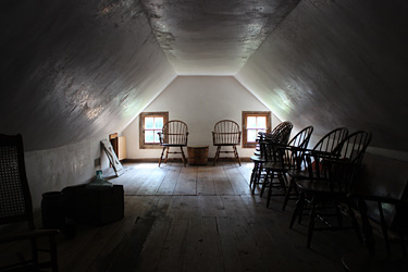 Stagville Overseers attic