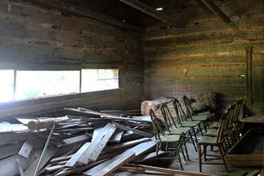 Durham County tobacco barn 375